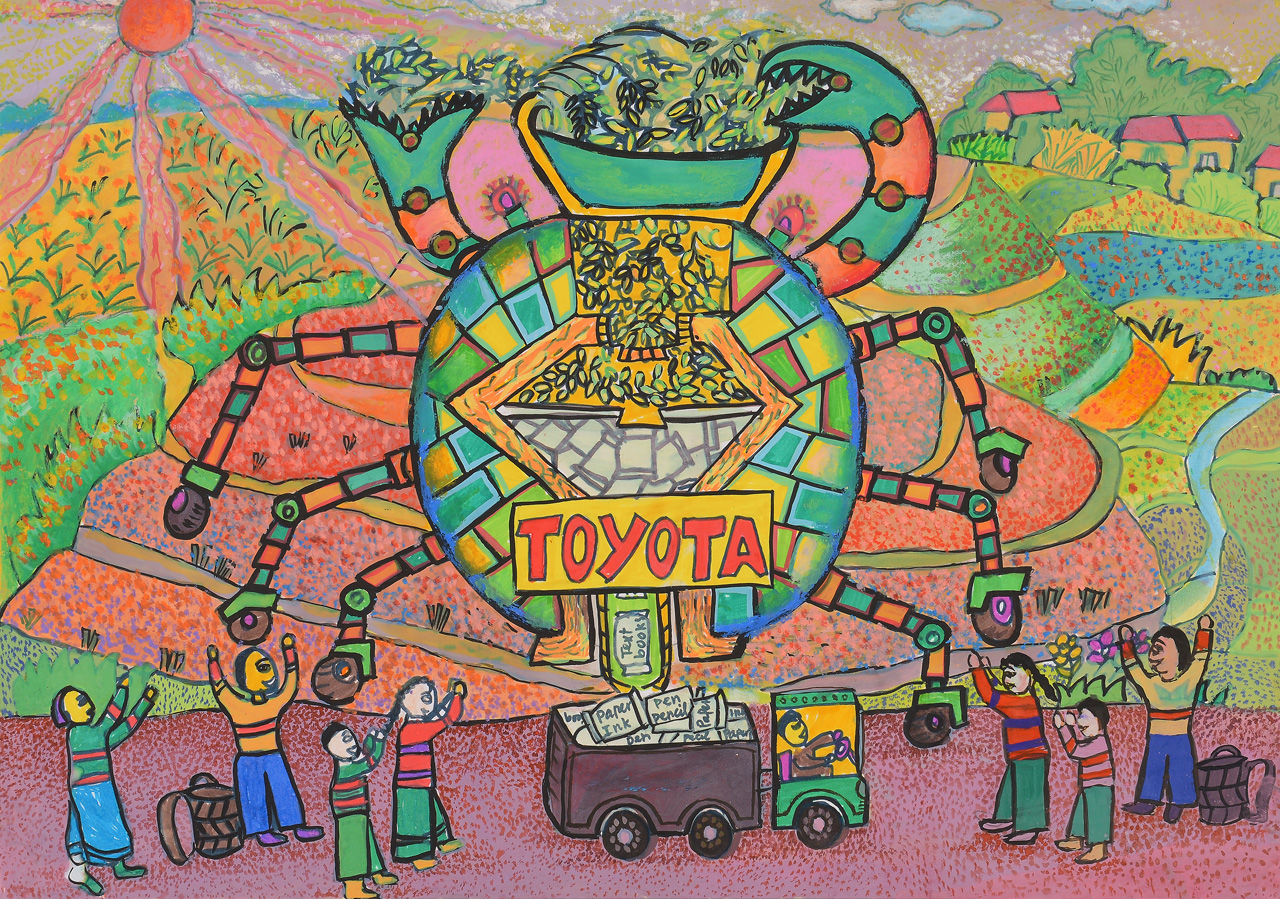 kid s wear toyota dream car contest