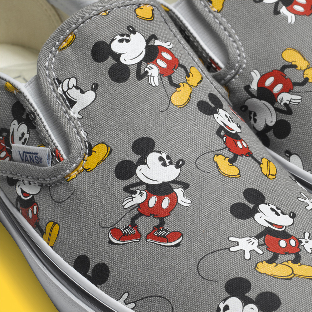 Kid's Wear Vans + Disney: a new collection of footwear