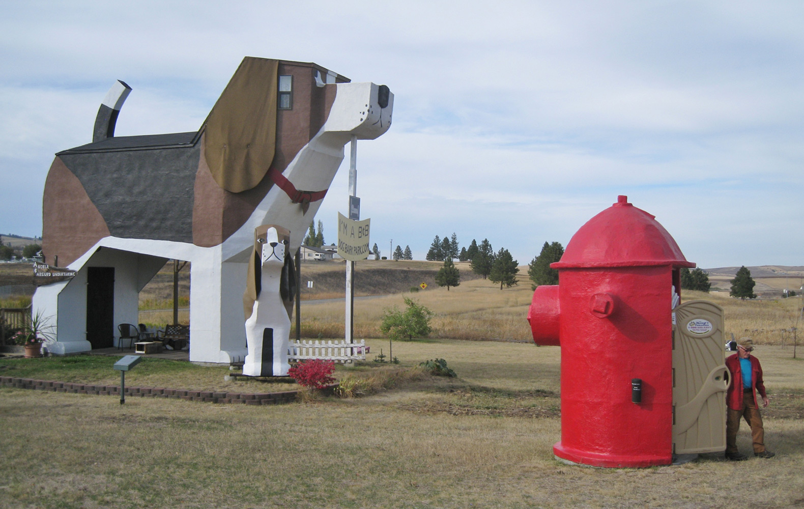 Dog Bark Park Inn, The Most Unusual Staying Solution
