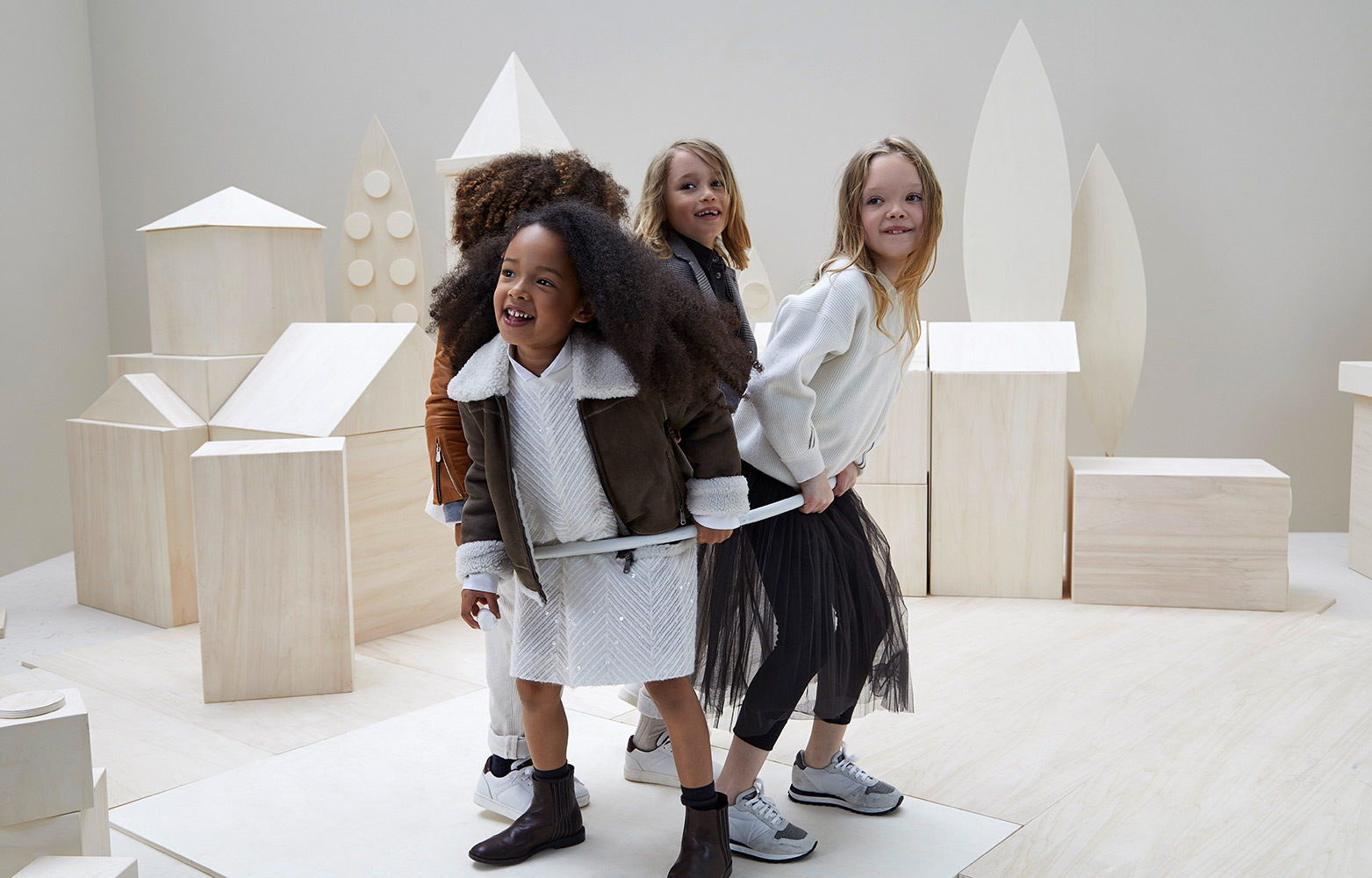 various design preview of new arrivals Kid's Wear - Brunello Cucinelli, new kidswear collection